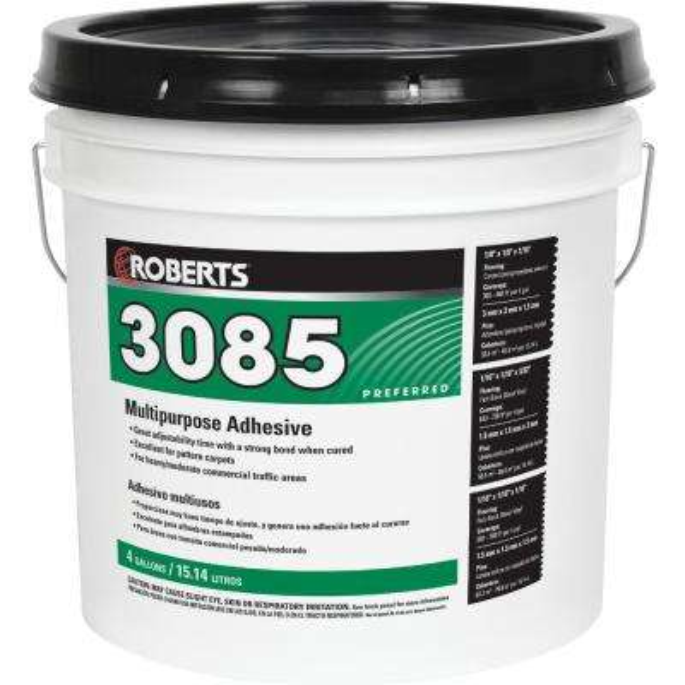 3085 4 Gal. Multipurpose Adhesive for Carpet and Sheet Vinyl Flooring