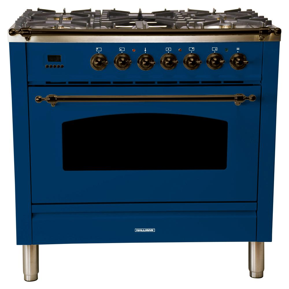 Hallman 36 In 3 55 Cu Ft Single Oven