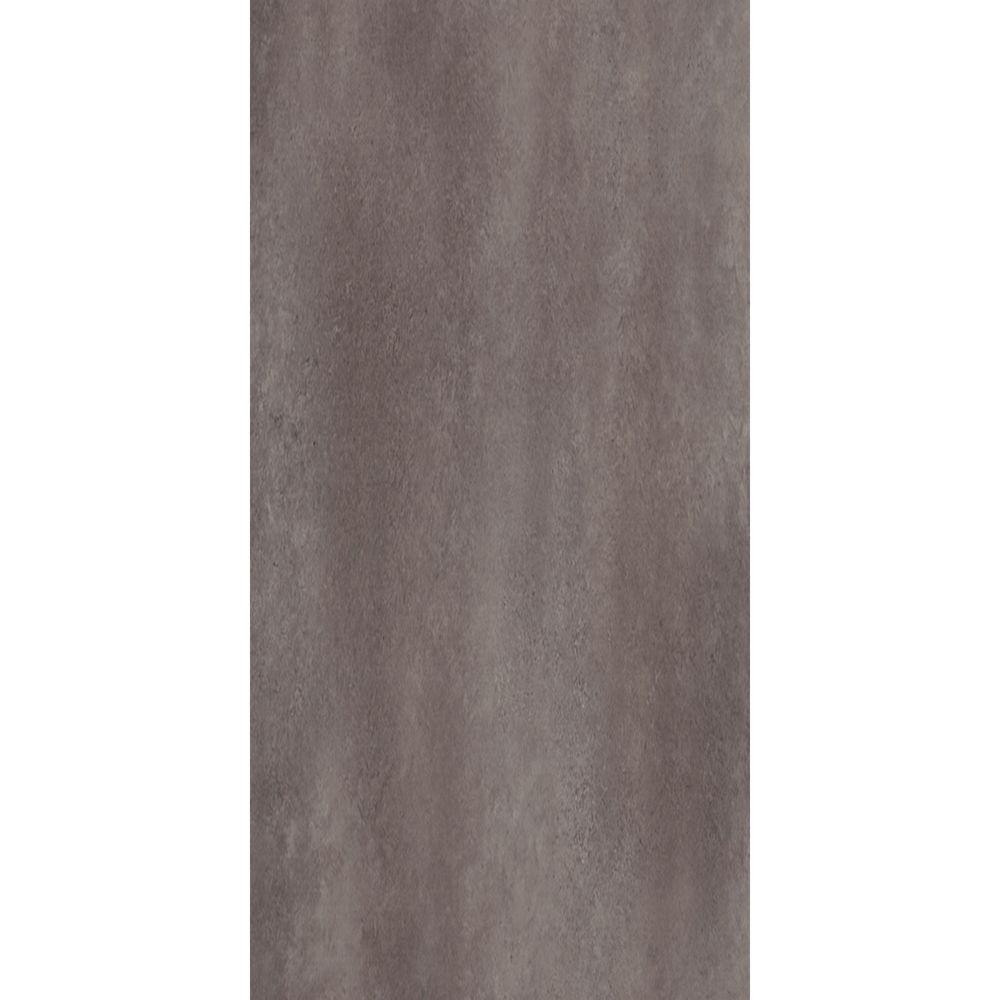 TrafficMASTER Ceramica Coastal Grey 12 in. x 24 in. Vinyl Tile Flooring (29 sq. ft. / case)