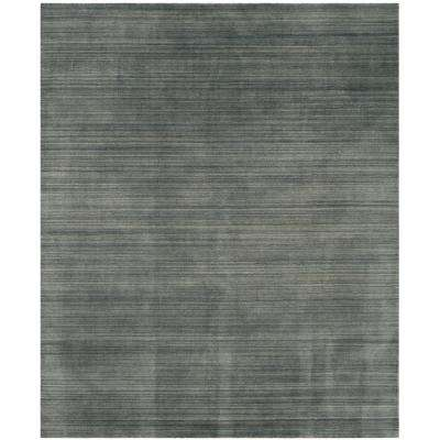 Himalaya Slate/Blue 8 ft. x 10 ft. Area Rug
