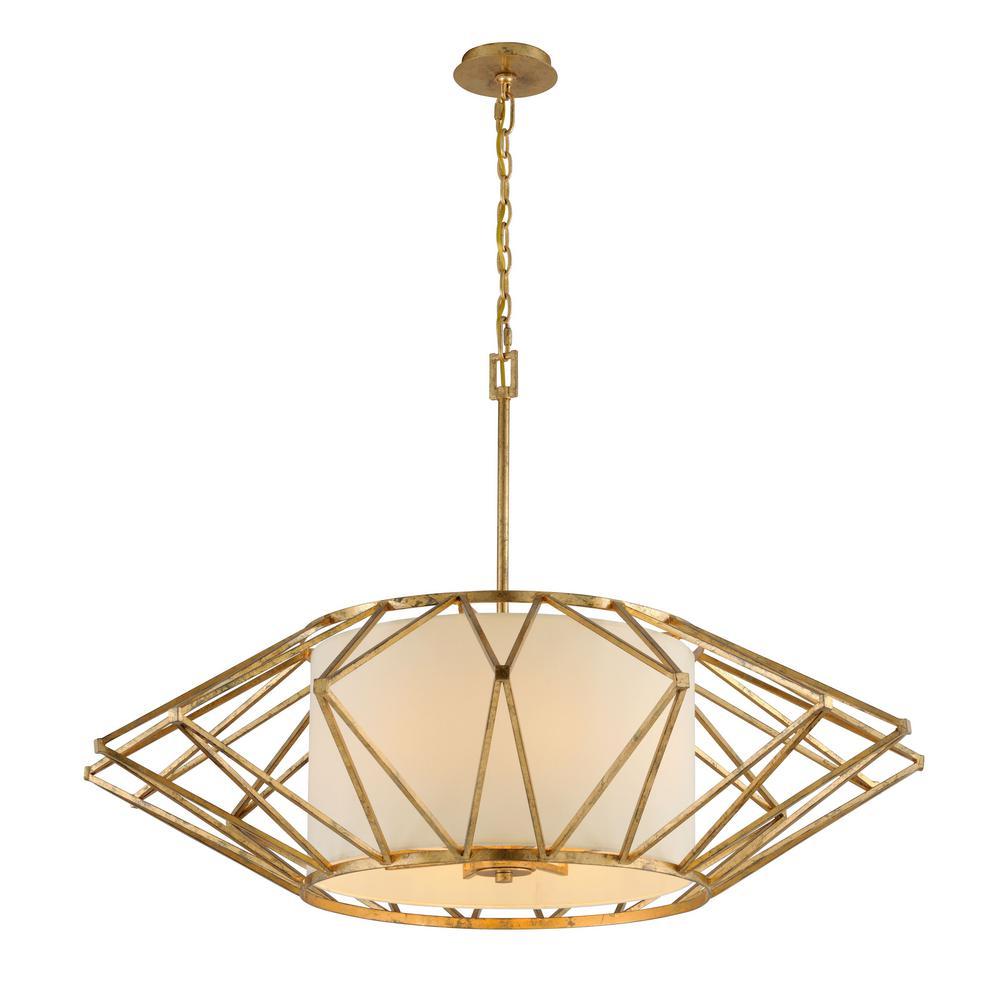 Gold Lighting Fixtures Currey Company 9137 Giltspur 3