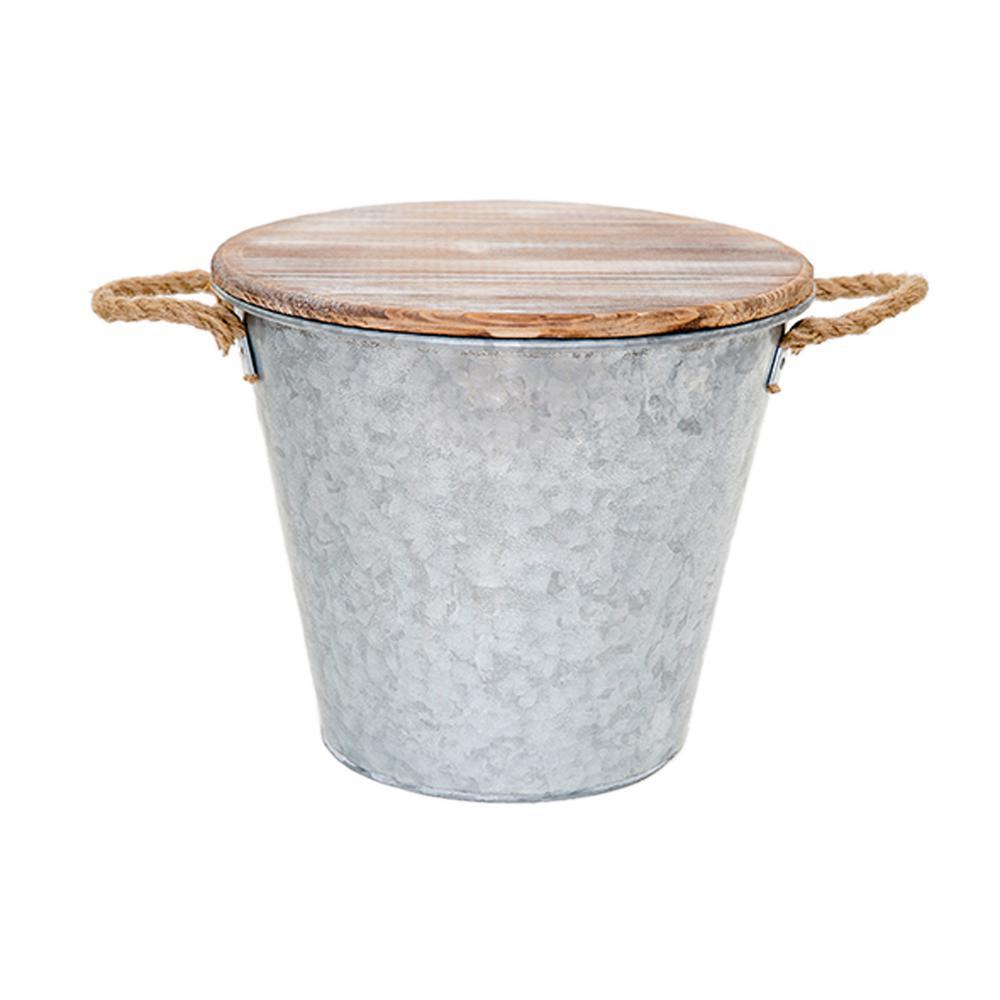 132 oz. Citronella Galvanized Bucket Candle