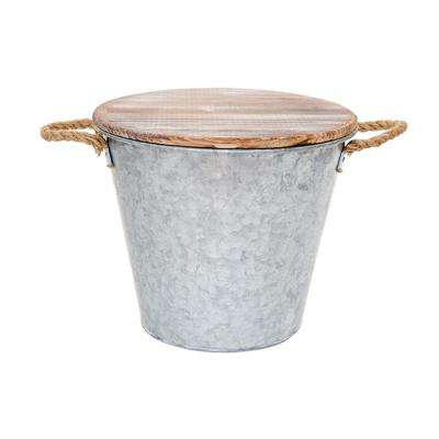 132 oz. Citronella Galvanized Bucket Candle