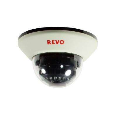 1200 TVL Indoor Dome Surveillance Camera with 100 ft. Night Vision