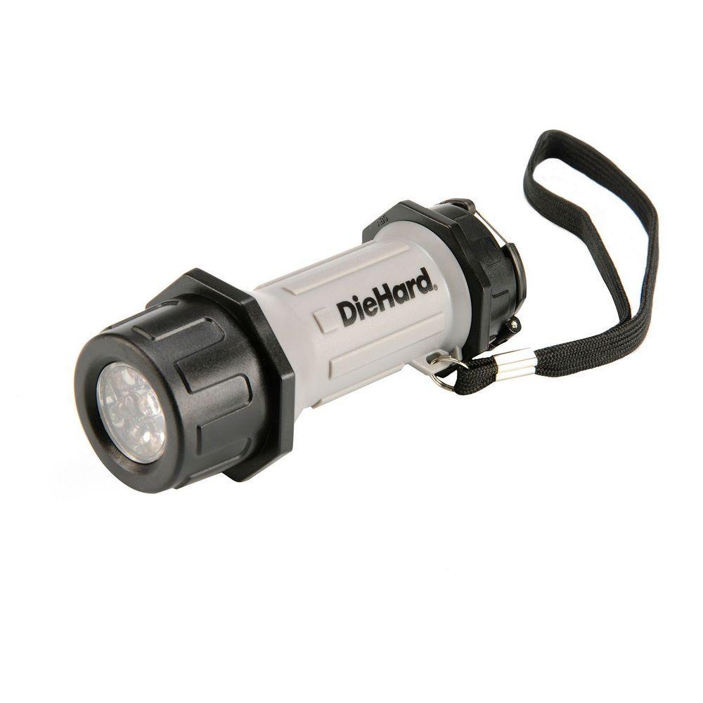 Dorcy DieHard Weather Resistant Shatterproof LED Flashlight
