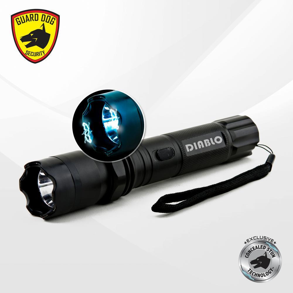 Diablo  4500k Concealed Stun Gun with 160 Lumen Tactical Light