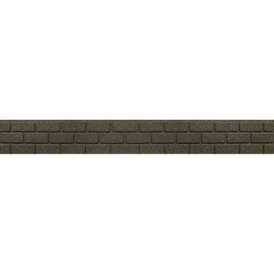 EZ Border Bricks 4 ft. Earth Rubber Garden Edging 1EA
