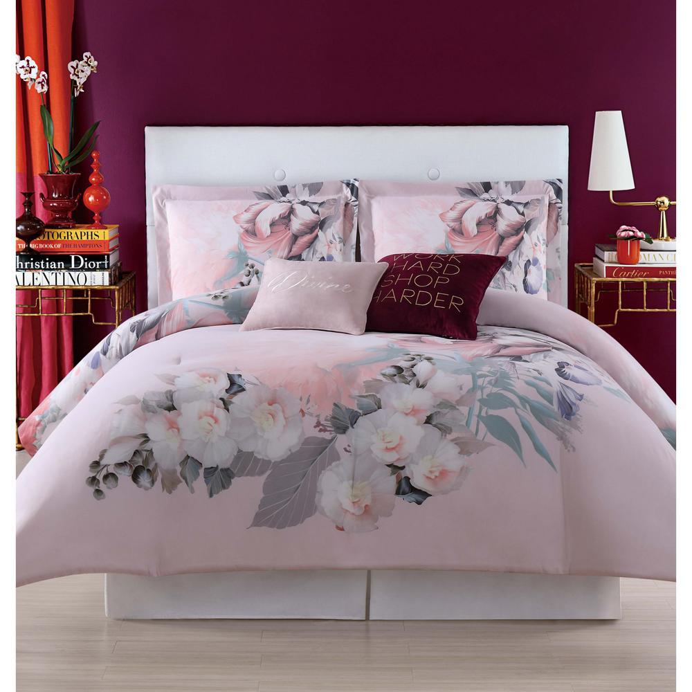 Dreamy Floral Full/Queen Comforter Set