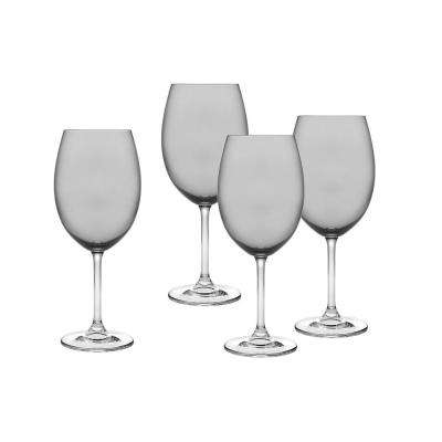 Meridian Smoke Red Wine Goblet (Set of 4)