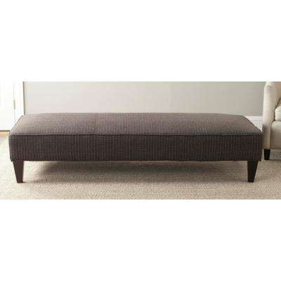 Harlow Espresso Lounging Bench