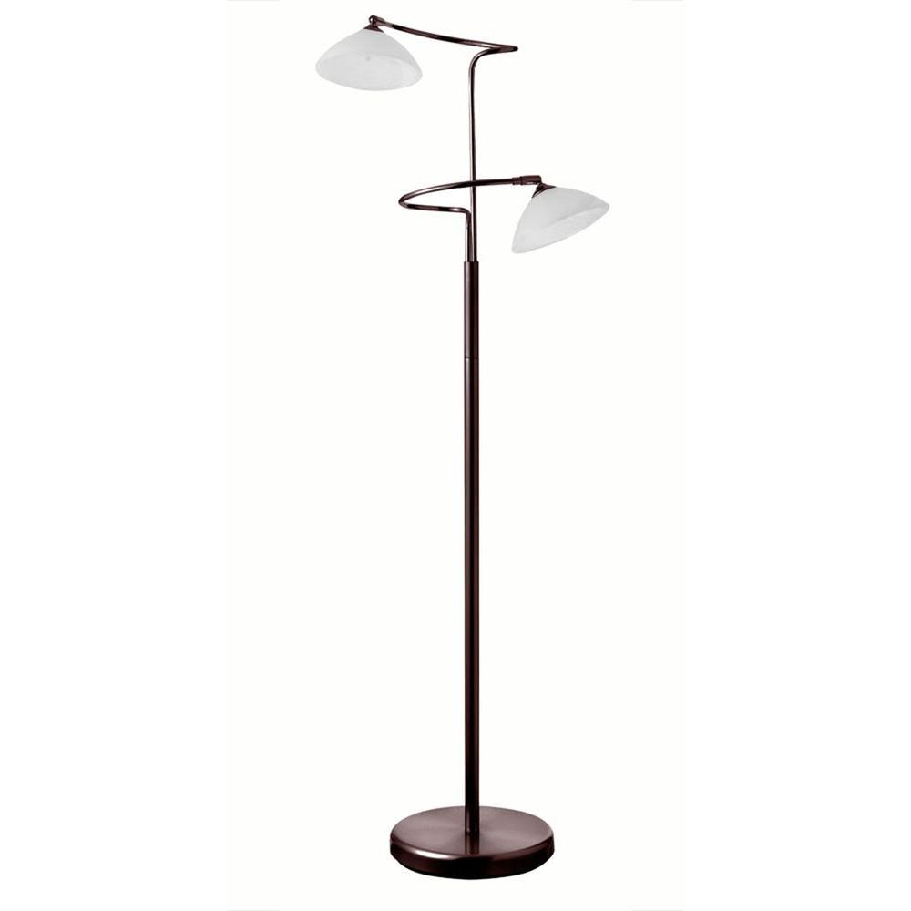 Filament design catherine 57 in oil brushed bronze floor for Floor lamp brushed bronze