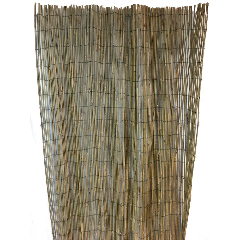 MGP 96 in. Woven Bamboo Rolled Fence