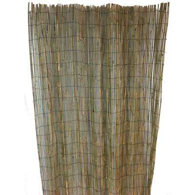96 in. Woven Bamboo Rolled Fence