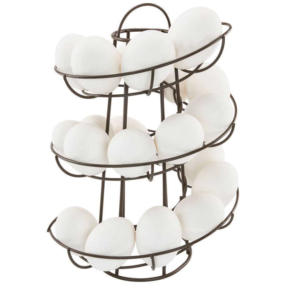 Dispense Mobili Moderne.Southern Homewares Brown Egg Skelter Deluxe Modern Spiraling