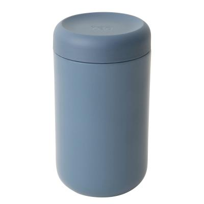Leo .79 Qt. Blue Food Container