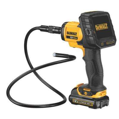 12-Volt MAX Lithium-Ion Inspection Camera with Wireless Screen