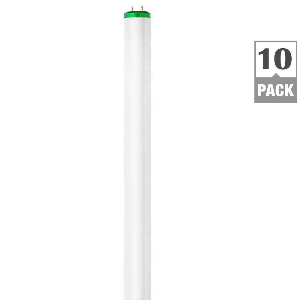 Philips 40-Watt 4 ft. T12 Soft White Deluxe Alto Linear Fluorescent Light Bulb (10-Pack)