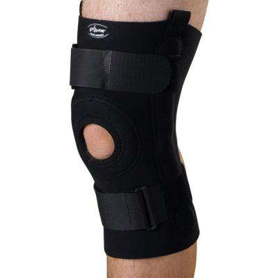 Large U-Shaped Hinged Knee Support