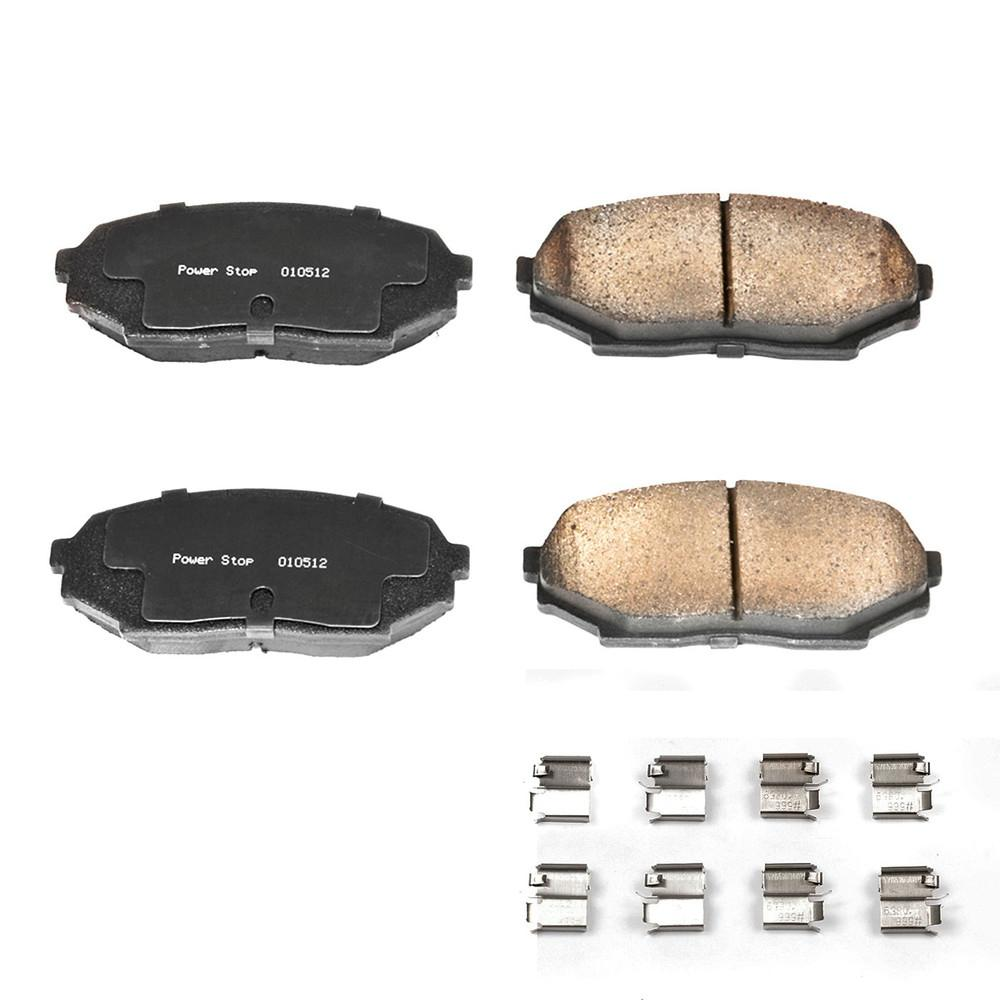 Disc Brake Pad Set-Z17 Evolution Plus Disc Brake Pad and Hardware Kit Front