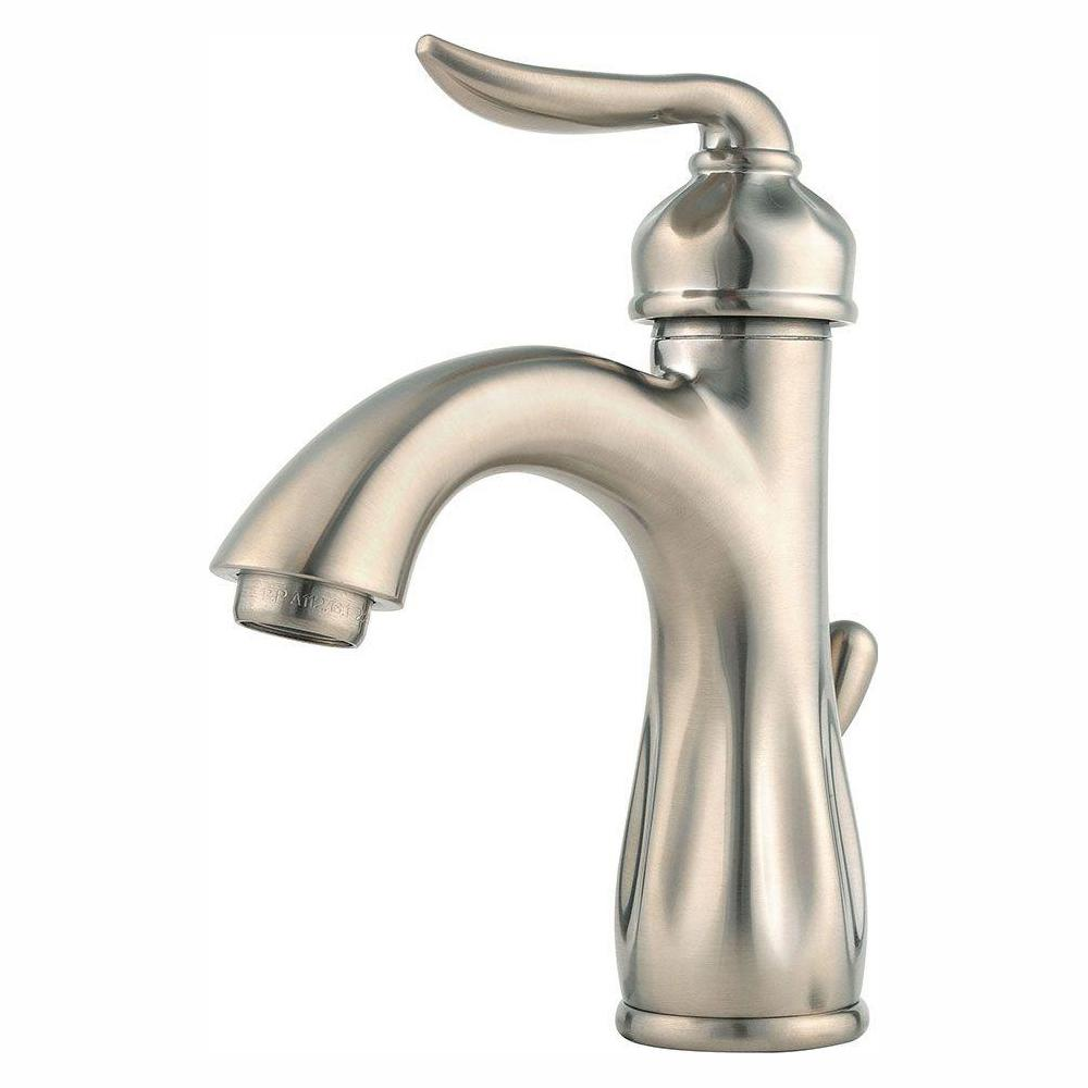 Pfister Sedona Single Hole Single-Handle Bathroom Faucet in Brushed Nickel
