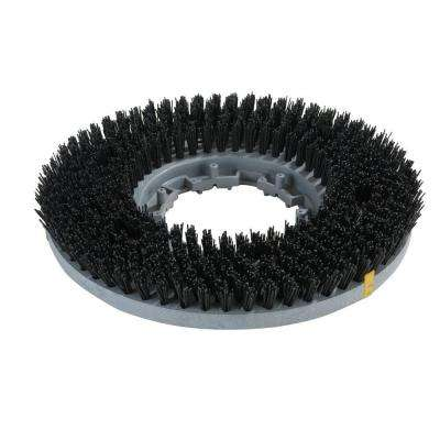 11 in. Value Rotary Black Stripping Brush - EZ Snap