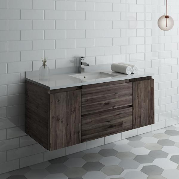 Modern Wall Hung Vanity Cabinet Only