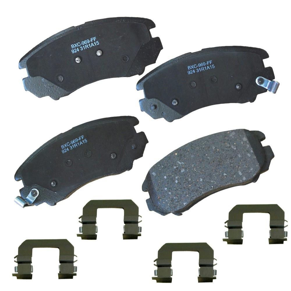 OEM FORD REAR BRAKE PAD SET MUSTANG GT /& V6 2005-2010 5R3Z-2200-B BR-1082
