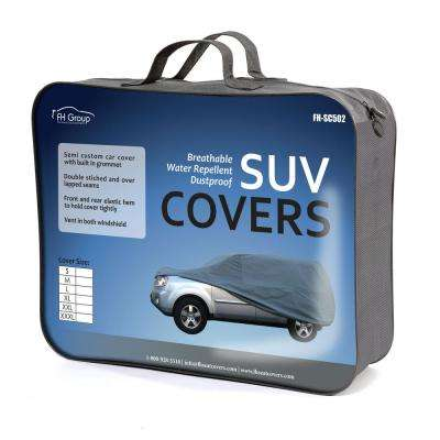 Supreme Water Resistant 230 in. x 80 in. x 65 in. XXX-Large SUV Car Cover