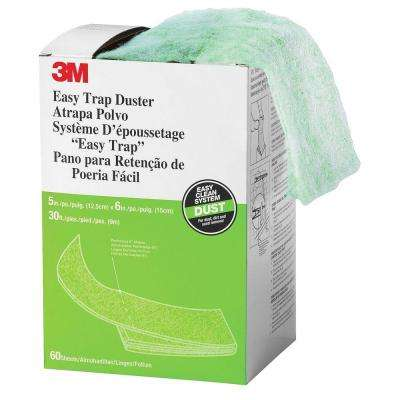 8 in. x 6 in. x 30 ft. Easy Trap Duster Sheets (60 Wipes per Box)