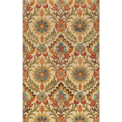 Tangier Gold 5 ft. x 8 ft. Indoor Area Rug