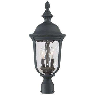 Ardmore 2-Light Black Outdoor Post Mount