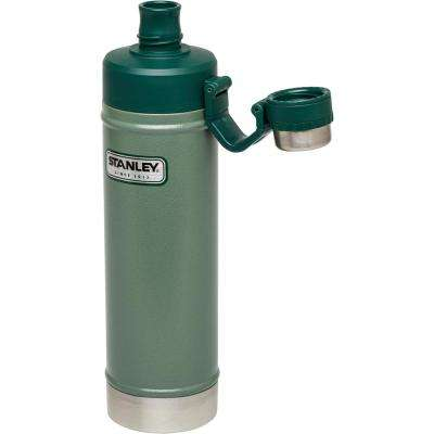 Classic 25 oz. Vacuum Water Bottle in Hammertone Green