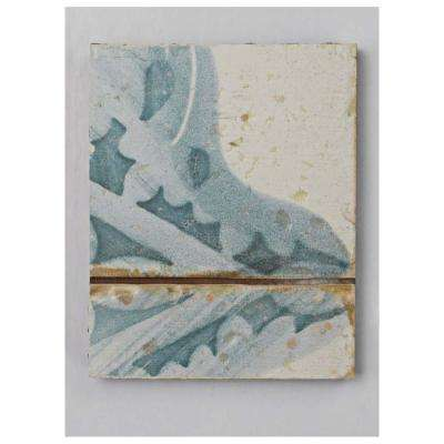 Artisan Azul Decor Ceramic Floor and Wall Tile - 3 in. x 4 in. Tile Sample