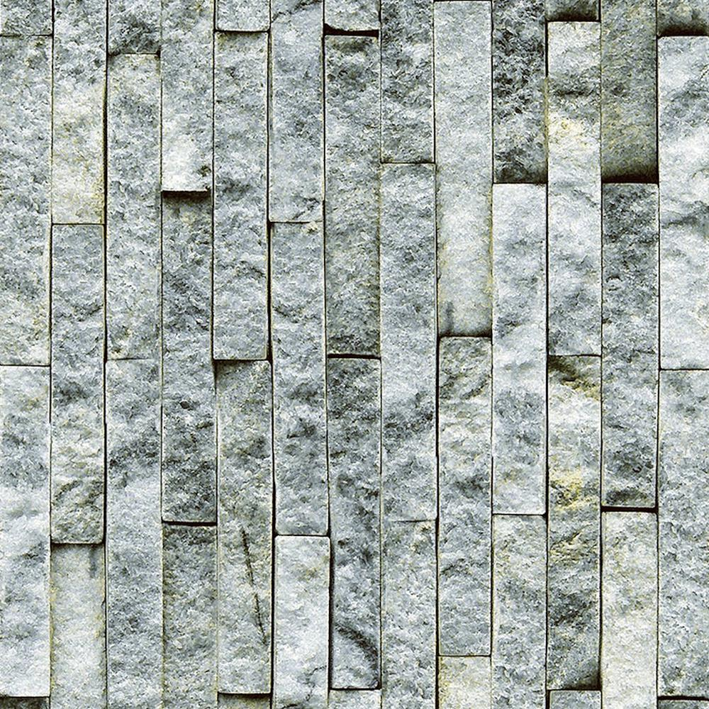 Decowall florence smoke brick spaccato peel and stick 3d for 3d peel and stick wallpaper