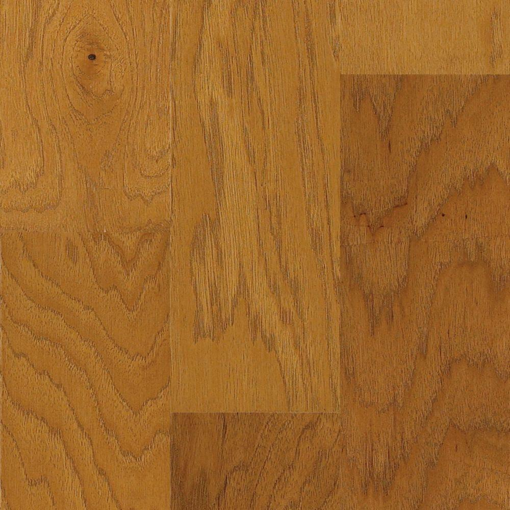 Shaw Appling Caramel 3/8 In. X 3 1/4 In. X Random Length Engineered Hickory Hardwood Flooring (23.76 Sq. Ft. / Case)