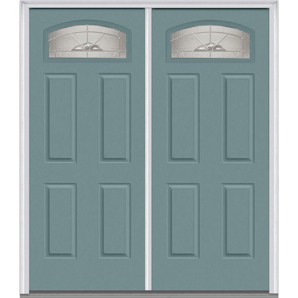 double door doors with glass steel doors the home depot