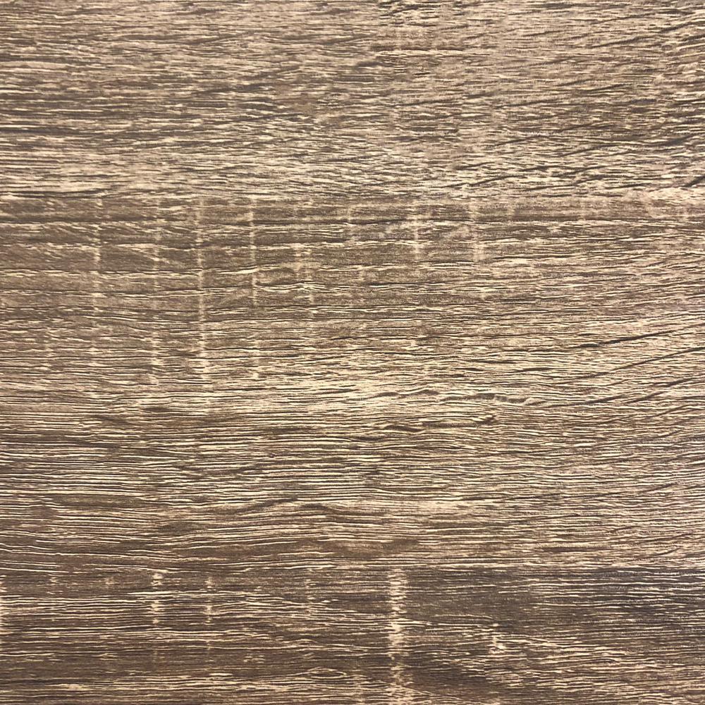 inPlace - 24 in. W x 10 in. D x 2 in. H Rustic Wood Floating Shelf