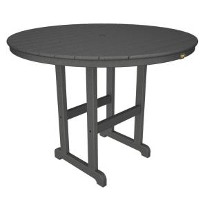 Trex Outdoor Furniture Monterey Bay 48 inch Stepping Stone Round Patio Counter Table by Trex Outdoor Furniture