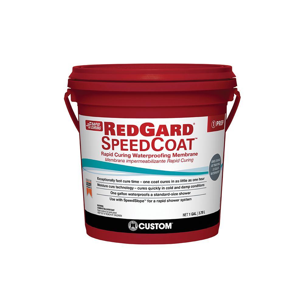 RedGard SpeedCoat 1 Gal. Waterproofing Membrane