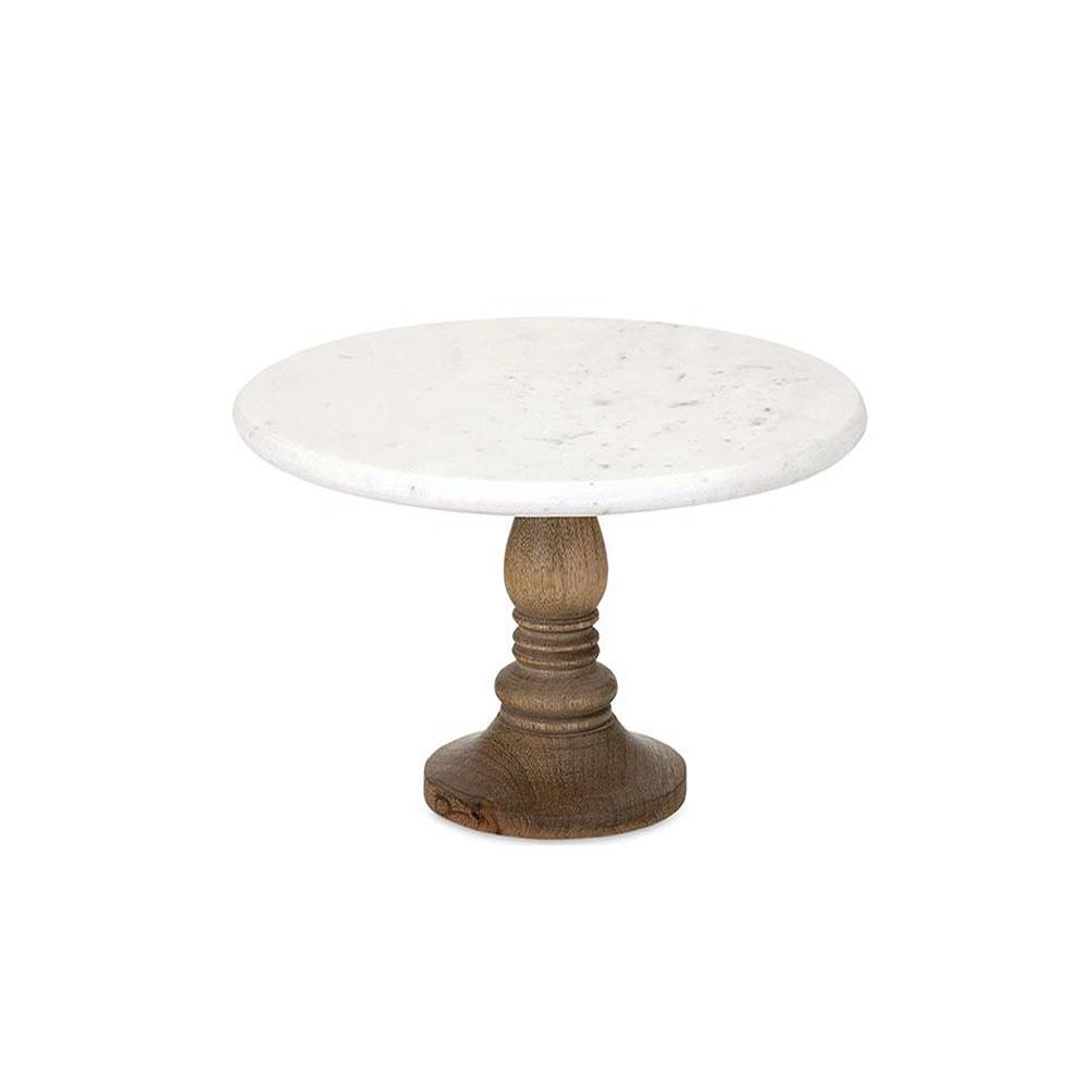 IMAX Julian 8 in. Marble Cake Stand
