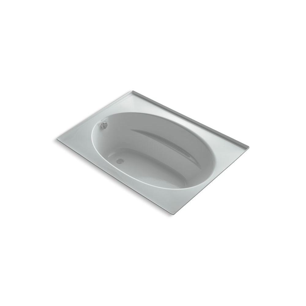 KOHLER Windward 5 ft. Reversible Drain Soaking Tub in Ice Grey-DISCONTINUED
