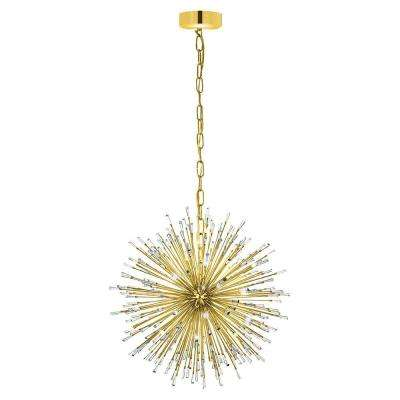 Vivaldo 21-Light Gold Chandelier