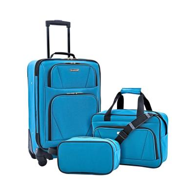 3-Piece Softside Carry-on Set with Tote and Travel Kit (Midtown)