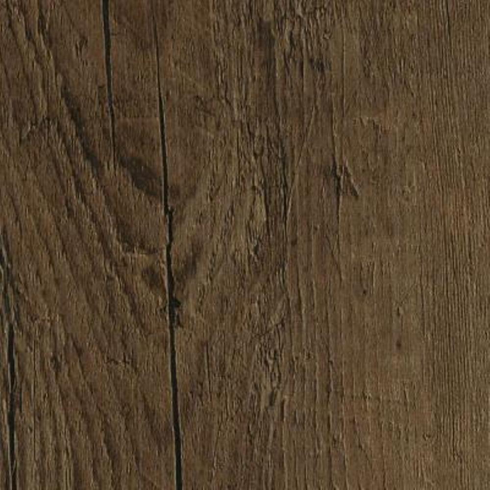 Take Home Sample - Oak Chestnut Click Lock Luxury Vinyl Plank Flooring - 6 in. x 9 in.