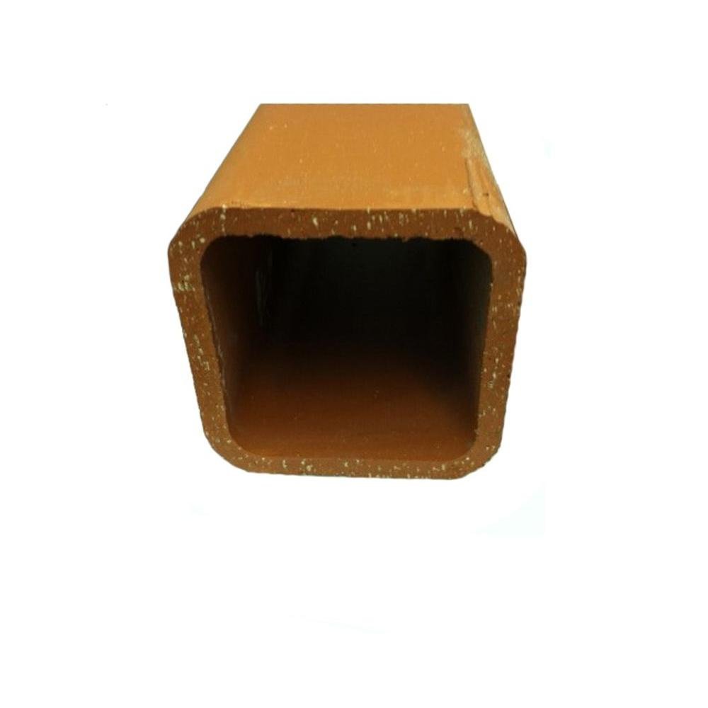 Oldcastle 30 Lb Clay Flue Liner Block 70304090 The Home