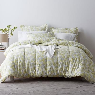 Whispering Leaves Sateen Comforter