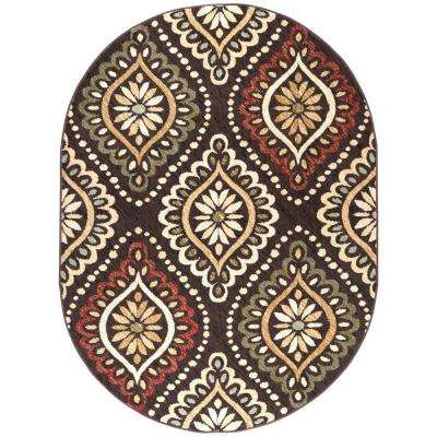 product home garden rugs area oval rug free canopy wool multicolored x tonto forester pine