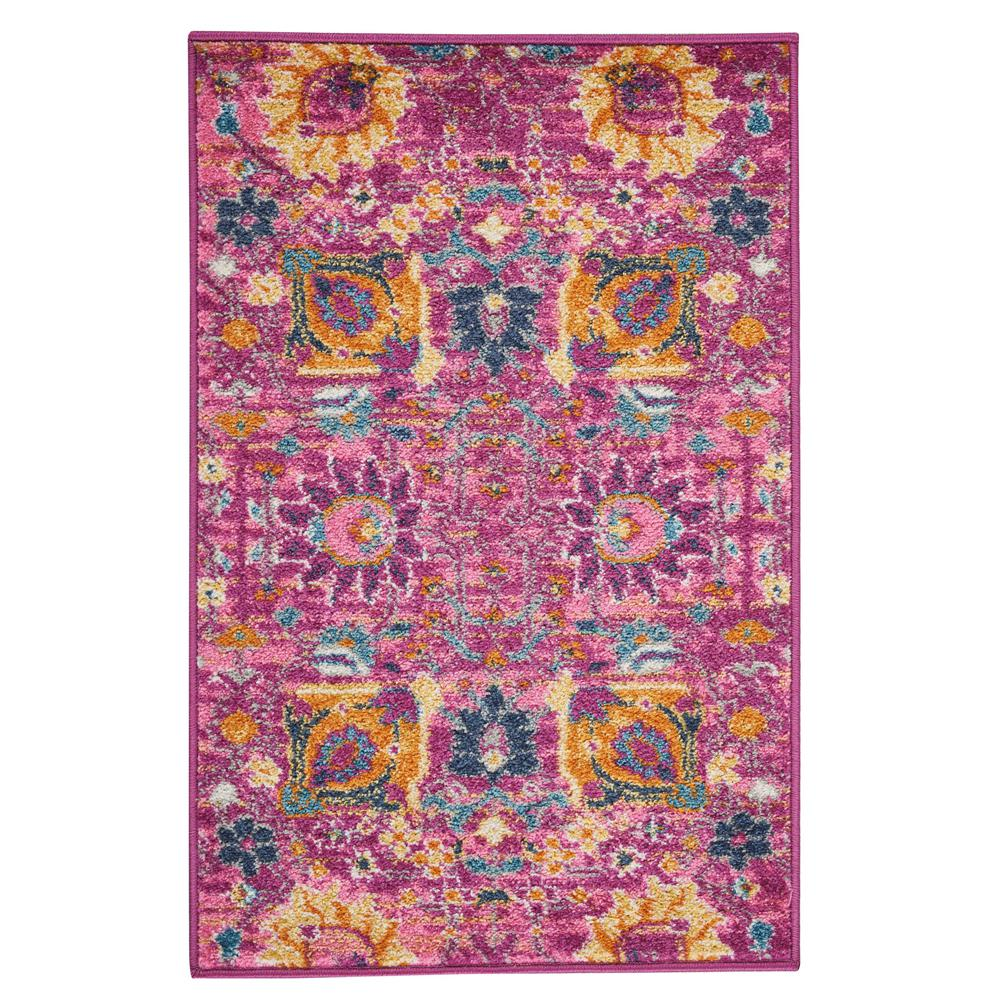 Passion Fuchsia 1 ft. 10 in. x 2 ft. 10 in.