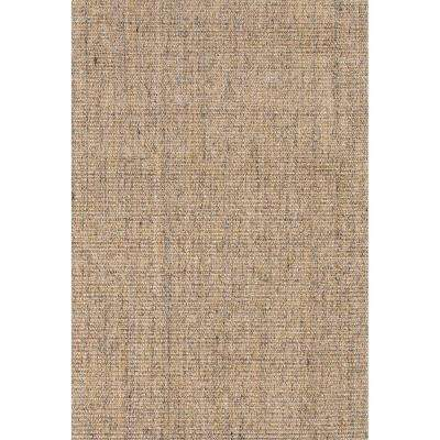 Hand Made Mottled Marble 2 ft. x 3 ft. Solid Area Rug