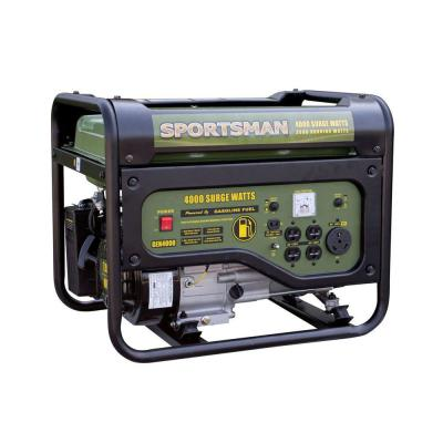 4,000/3,500-Watt Gasoline Powered Portable Generator with RV Outlet
